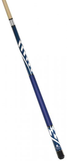 Powerglide Mizano Blue 57'' Two Piece Pool Cue (55038)