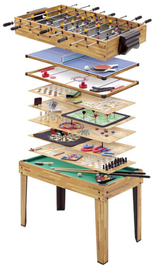 34-in-1 Multi Games Table