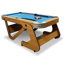 Riley 6 foot 6 inch Folding Pool Table (RPT-6F)
