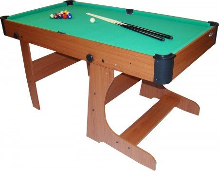 Gamesson Yale L-Foot 5 foot Folding Pool Table