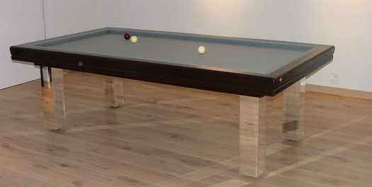 Billard Toulet Miroir Slate Bed Pool Table