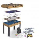 Riley 21-In-1 4 foot Multi Games Table (M21B-1S)