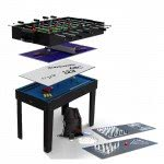 Riley 12-In-1 4 foot Multi Games Table (MG12-1S)
