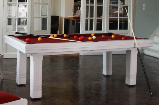 Billard Toulet Le Club Slate Bed Snooker Table