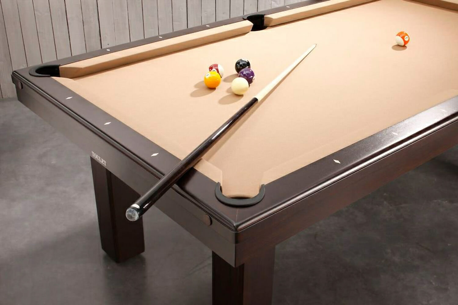 Billard toulet broadway snooker table 9 ft 10 ft for 10 foot snooker table