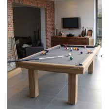 Billard Toulet Outdoor Teck Slate Bed Snooker Table