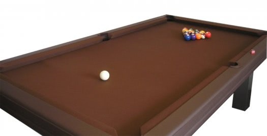 Billard Toulet Leatherlux American Slate Bed Pool Table