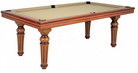 Billard Toulet Ambassadeur Slate Bed Pool Table