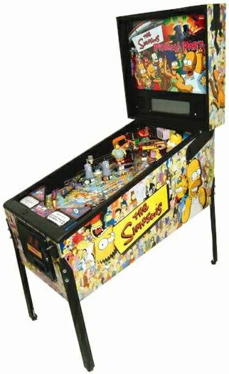 The Simpsons Pinball Party Pinball Machine For Sale
