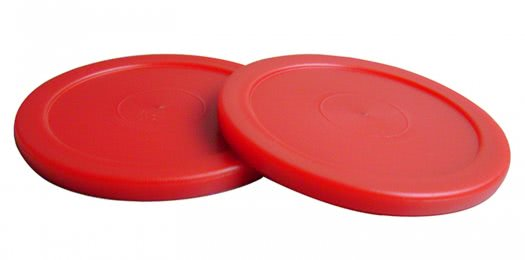 Strikeworth Red Air Hockey Puck - 63mm Diameter