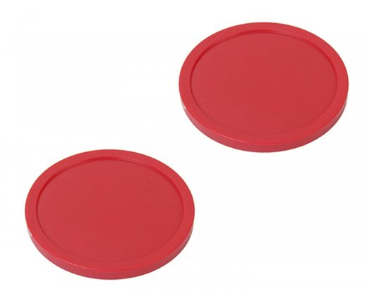 Strikeworth Red Air Hockey Puck - 75mm Diameter