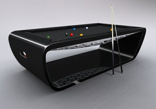 Billard Toulet Blacklight American Slate Bed Pool Table