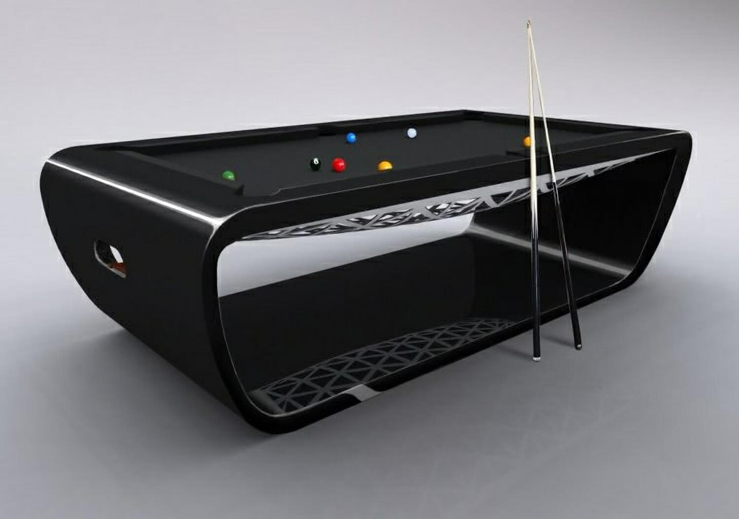 billard toulet blacklight american slate bed pool table - Slate Pool Table