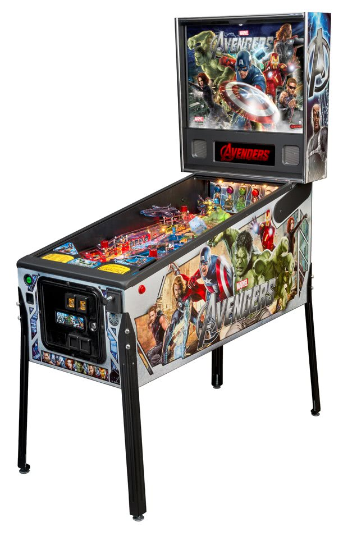 Avengers Pinball Table Liberty Games
