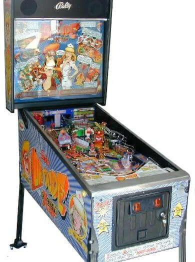 Dr Dude Pinball Machine