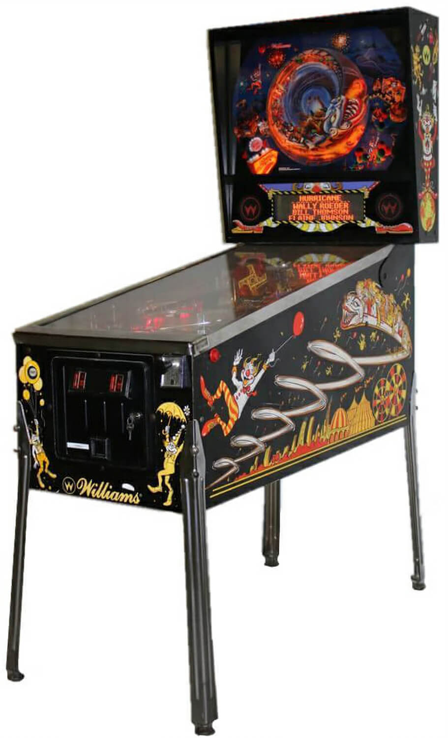 hurricane pinball machine liberty games