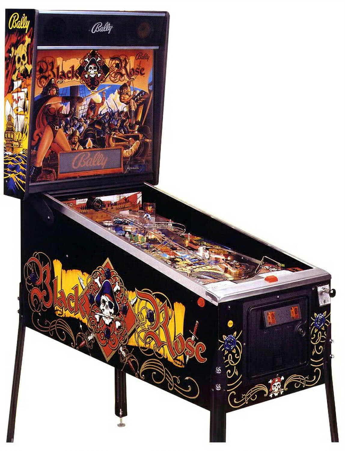 Black Rose Pinball Liberty Games