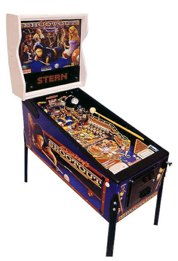 Stern Sharkey's Shootout Pinball Machine
