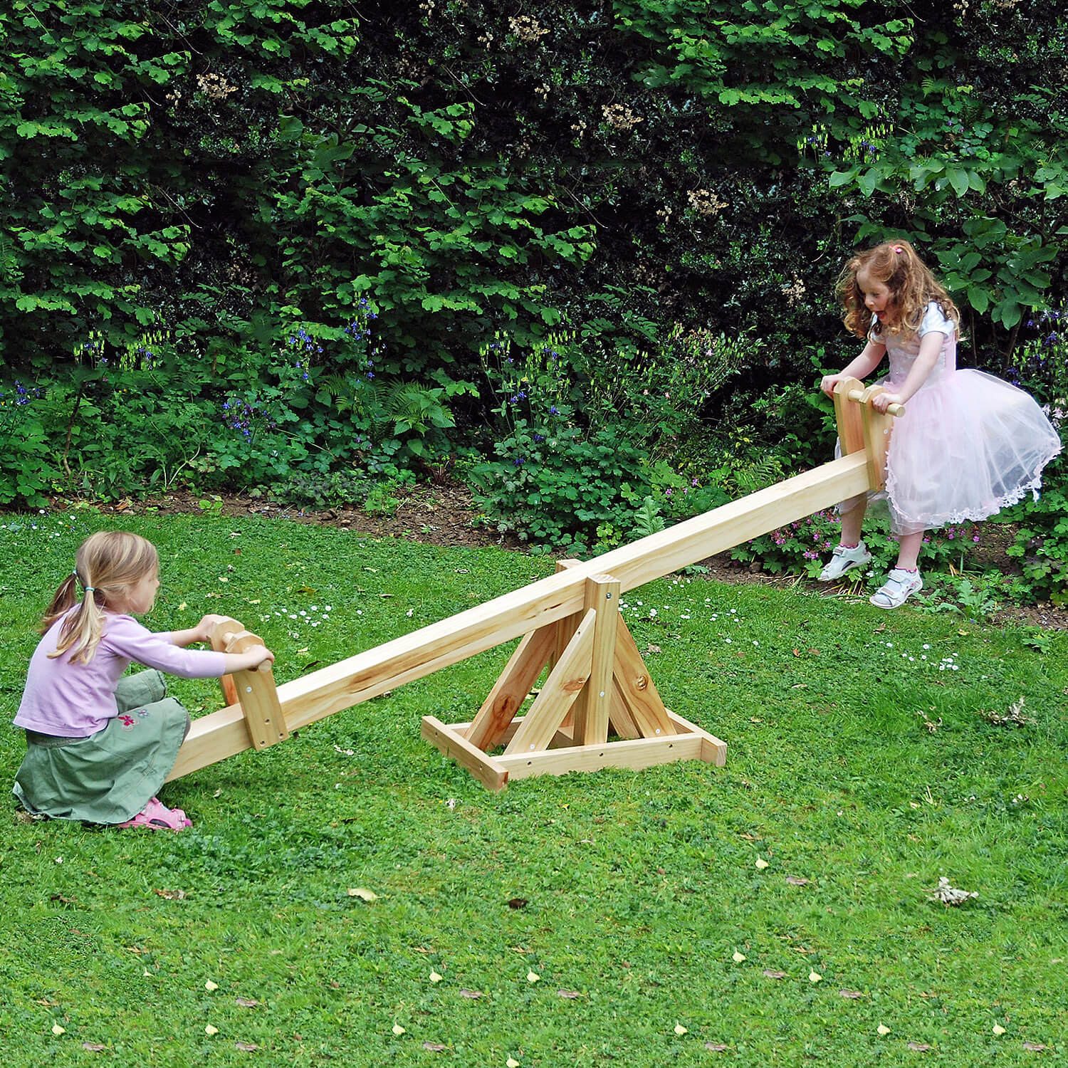 Wooden See-Saw (ATJE110) | Liberty Games