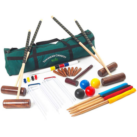 Townsend 4 Player Croquet Set in a Bag (2023)
