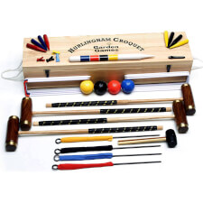 Hurlingham 4 Player Croquet Set (2102)