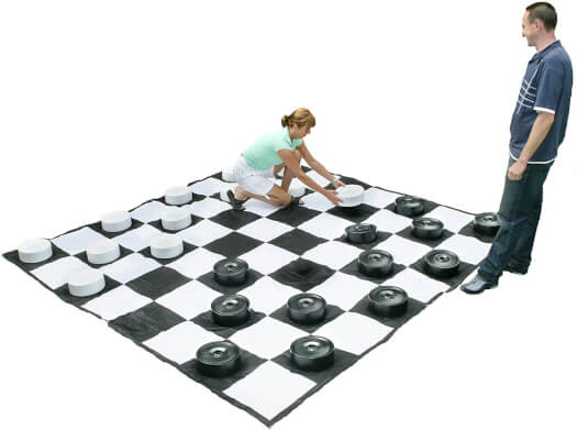 Giant Draughts Pieces (805)