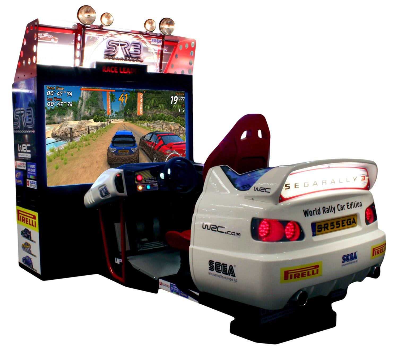 Sega Rally 3 Deluxe Arcade Machine Liberty Games