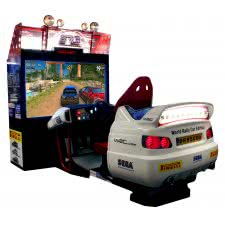 Sega Rally 3 Deluxe Arcade Machine