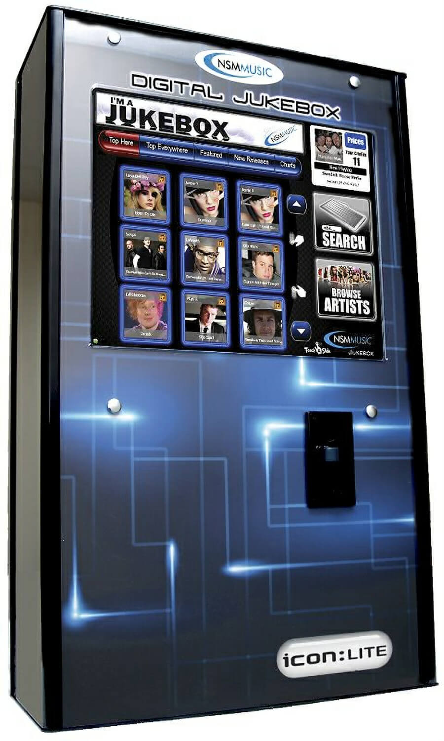 Nsm Music Icon Lite Digital Jukebox Liberty Games