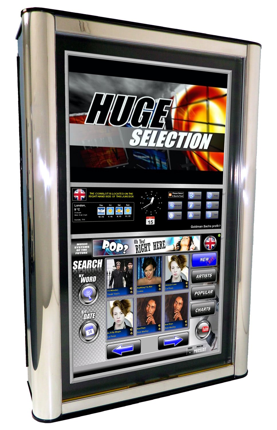 Nsm Music Icon Fusion Digital Jukebox Liberty Games