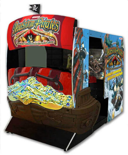 Namco Deadstorm Pirates Arcade Machine
