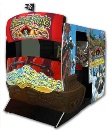 Namco Deadstorm Pirates Arcade Machine Liberty Games