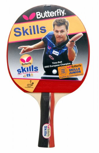 Butterfly Skills Junior Table Tennis Bat (10247)