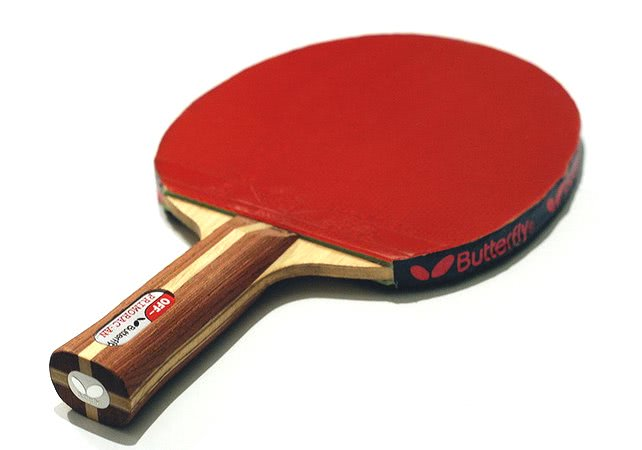 Butterfly Primorac Table Tennis Bat & Bryce Speed FX Rubbers