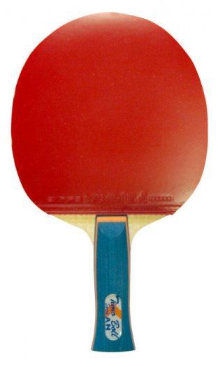 Butterfly Boll Spirit Table Tennis Bat & Sriver L Rubbers