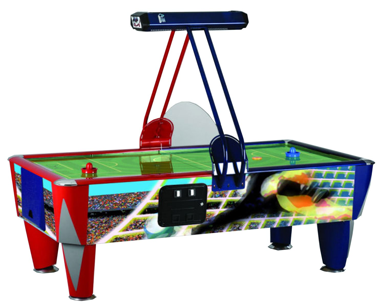 Sam Fast Soccer Commercial Air Hockey Table 7 Ft 8 Ft