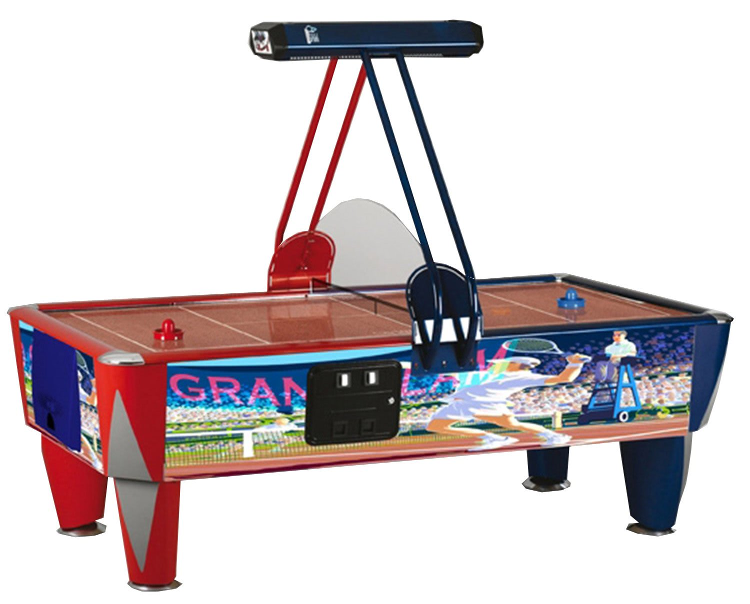 Fast Tennis Air Hockey Table 7 Ft 8 Ft Liberty Games