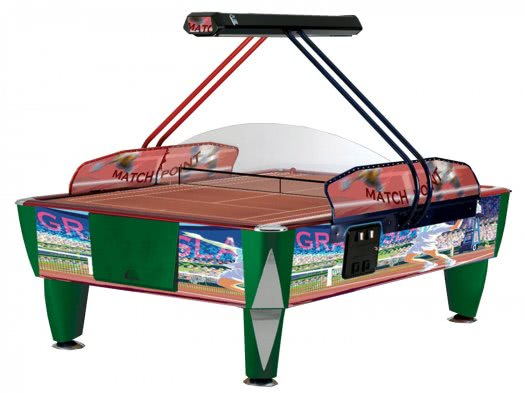 SAM Double Fast Tennis 8 foot Commercial Air Hockey Table