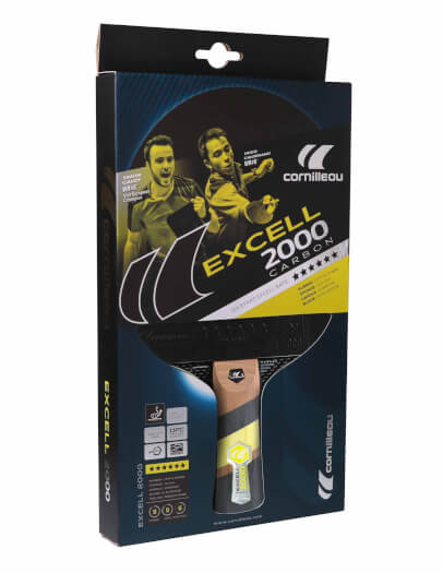 Cornilleau Excell 2000 Carbon PHS Table Tennis Bat