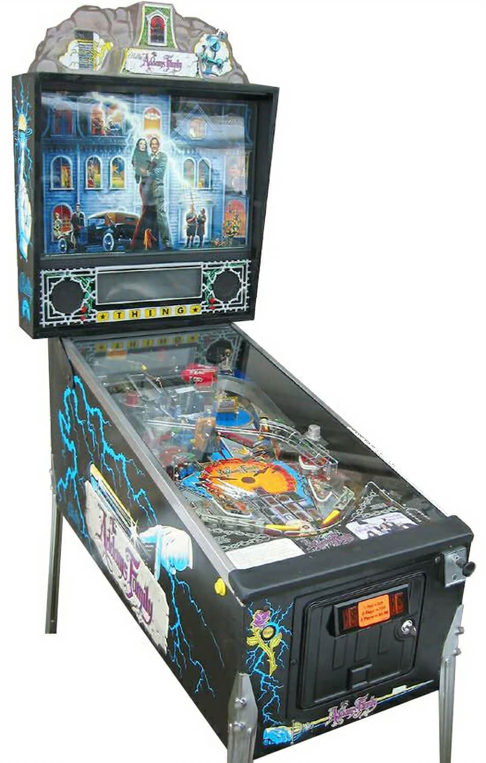 The Addams Family Pinball Machine Liberty Games : 443addams family pinball from www.libertygames.co.uk size 550 x 862 jpeg 85kB