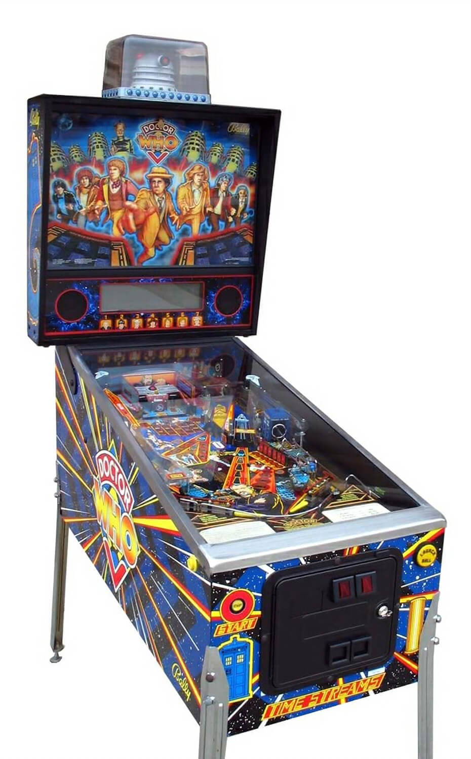 Doctor Who Pinball Liberty Games