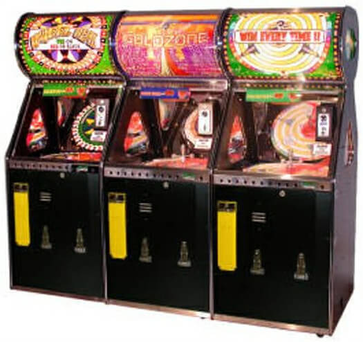 Benchmark Wheel Deal 3 Player Novelty Redemption Machine