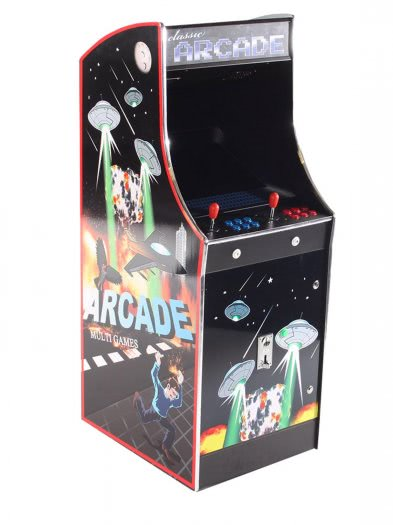 Cosmic Fighter Multi Game Arcade Machine