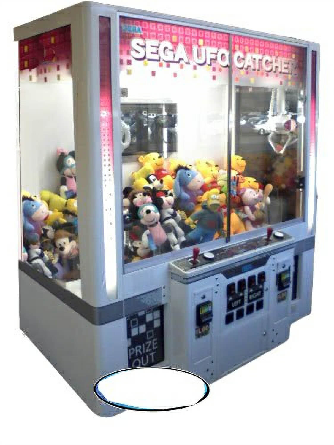 Sega Ufo Catcher Hello Kitty Crane Machine Liberty Games