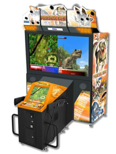 Sega Primeval Hunt Arcade Machine