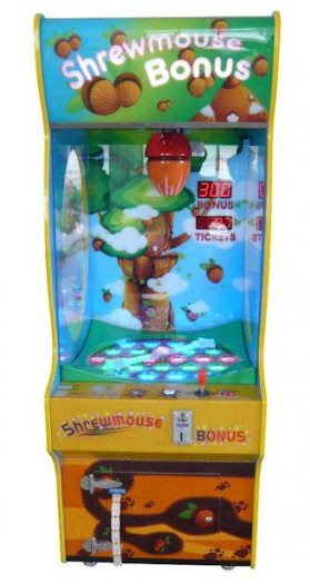 Gameart Shrewmouse Bonus Novelty Redemption Machine