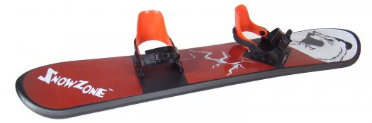 Snowzone 130cm Red Bear Snow Board