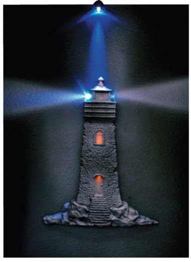 Lighthouse 3D LED Picture