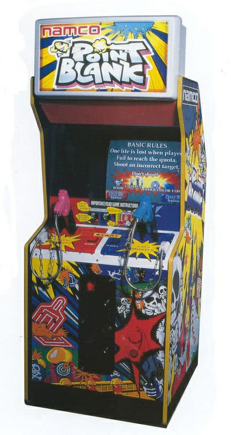 Namco Point Blank Arcade Machine Liberty Games