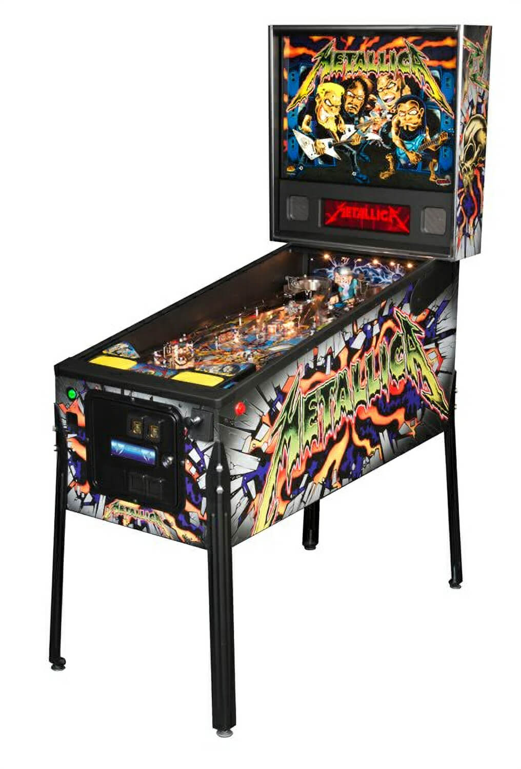 Stern Metallica Pro Pinball Machine Liberty Games